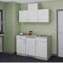Küchenblock Single mit E-Geräten