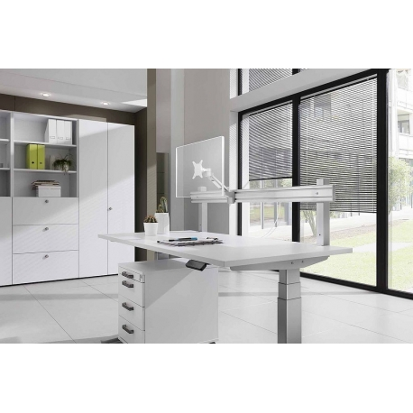 Orga-Schiene für Schreibtisch 160 cm breit - Happy-Hartmann GmbH