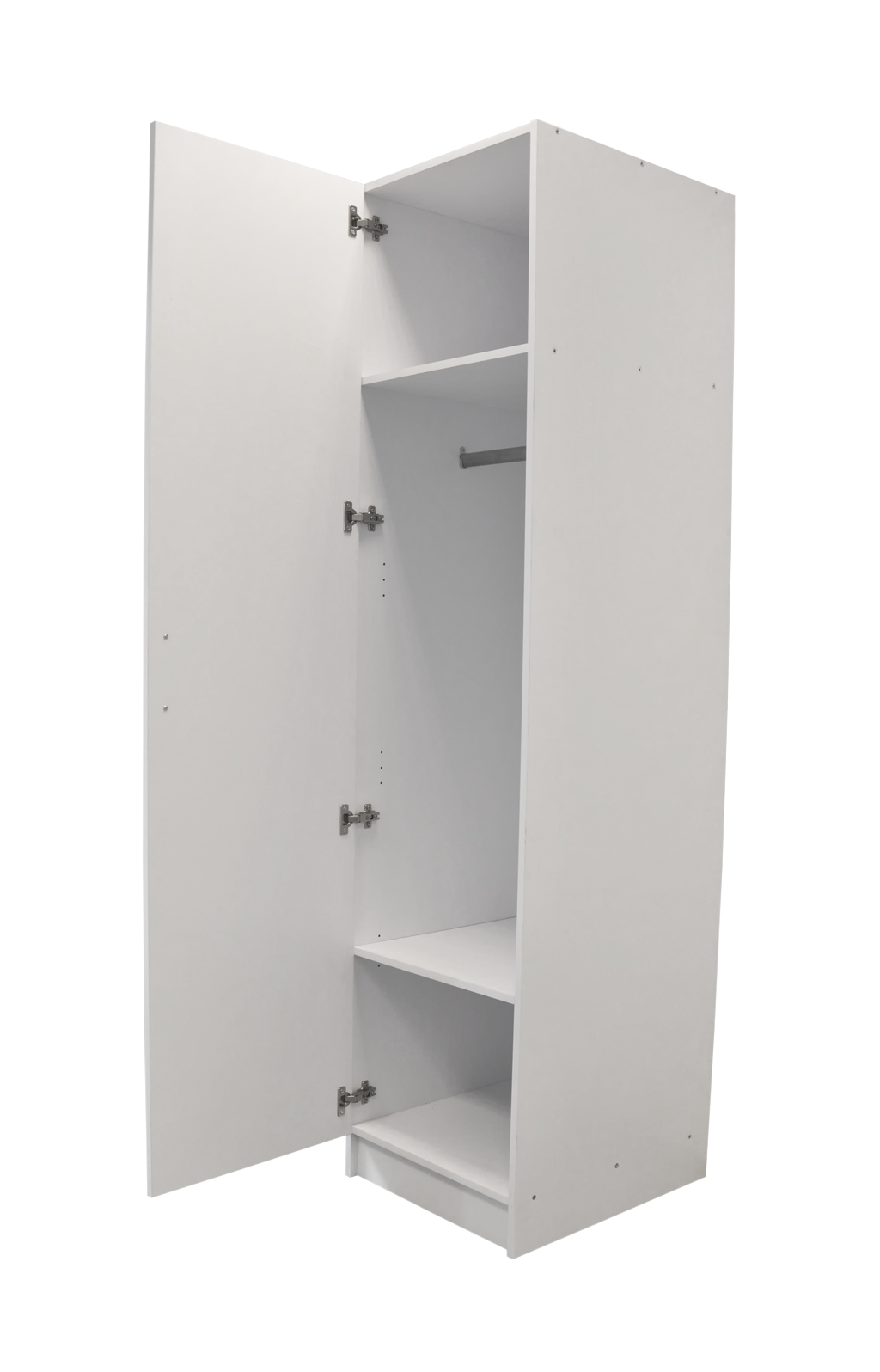 Kleiderschrank eintürig 50 cm Breit