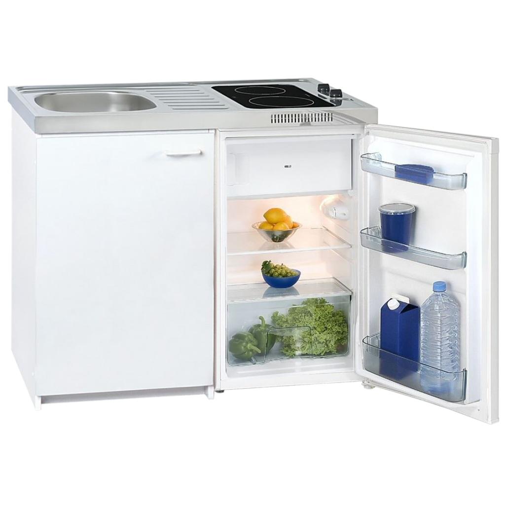 Kompaktkuche mini mit glaskeramikfeld happy hartmann gmbh for Kompaktküche