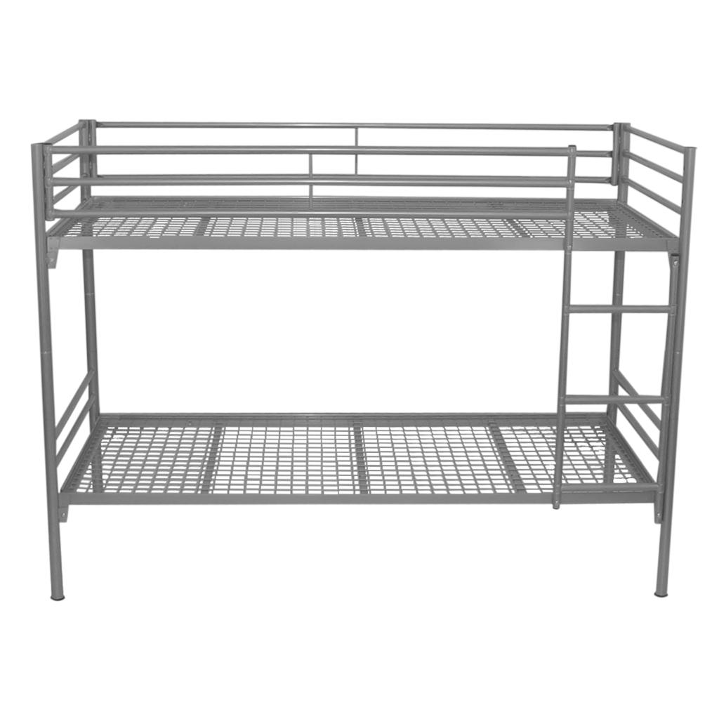Etagenbett metall bett einzelbett metall hochbett for Einzelbett metall
