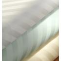 Satin Bettwäsche Garnitur mit Diagonalstreifen