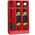 Feuerwehrschrank mit Helmeinschubfach