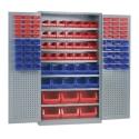 Großraumwerkstattschrank / 7 Fachböden inkl. Lagerkastensortiment