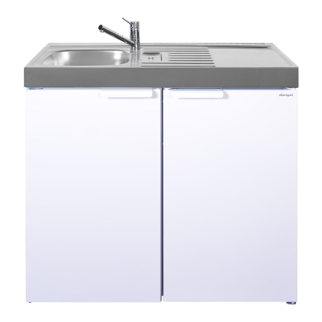 MiniKüche ohne Kühlschrank Kitchenline MK 100 |bei Happy Hartmann