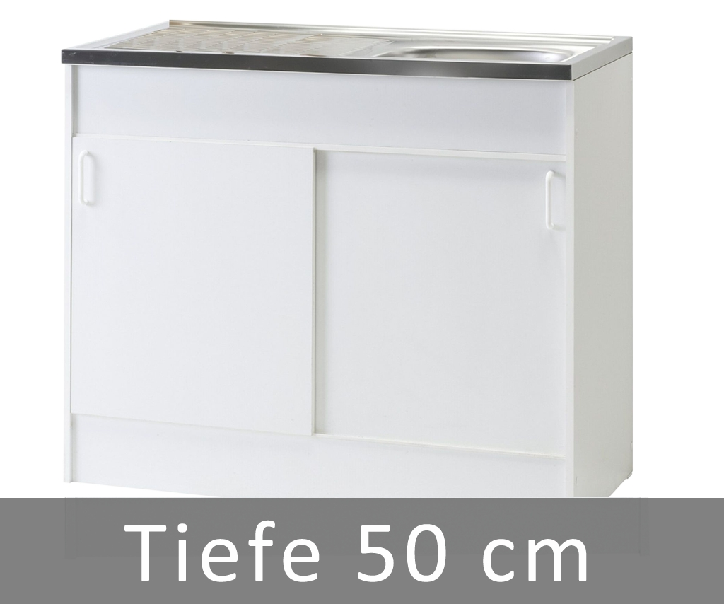 Schiebetüren Spülenschrank 100cm breit - Happy-Hartmann GmbH
