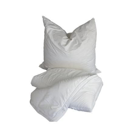 Bett + Kissen-Set