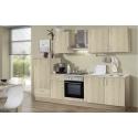 Küchenblock Litra - Dekor Eiche Matt / Sonoma-Eiche